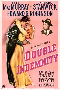 Best Drama Movies of 1944 : Double Indemnity