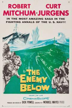 Best War Movies of 1957 : The Enemy Below