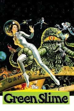 Best Science Fiction Movies of 1968 : The Green Slime