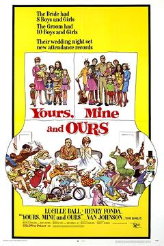 Best Comedy Movies of 1968 : Yours, Mine and Ours
