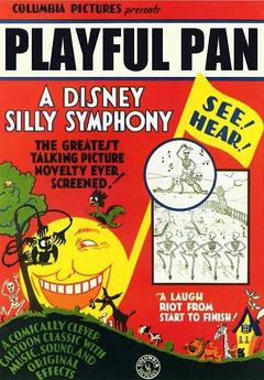 Best Animation Movies of 1930 : Playful Pan