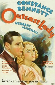 Best Romance Movies of 1934 : Outcast Lady