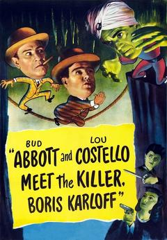 Best Comedy Movies of 1949 : Abbott and Costello Meet the Killer, Boris Karloff