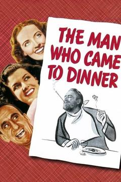 Best Comedy Movies of 1942 : The Man Who Came to Dinner