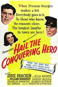 Best Comedy Movies of 1944 : Hail the Conquering Hero