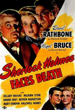 Best Thriller Movies of 1943 : Sherlock Holmes Faces Death