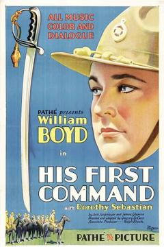 Best Action Movies of 1929 : His First Command