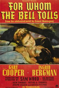 Best Adventure Movies of 1943 : For Whom the Bell Tolls