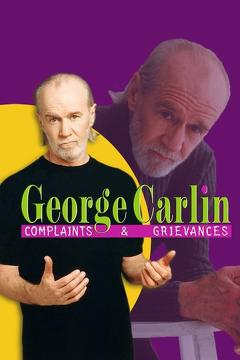 Best Tv Movie Movies of 2001 : George Carlin: Complaints & Grievances