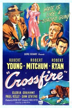 Best Mystery Movies of 1947 : Crossfire