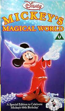 Best Animation Movies of 1988 : Mickey's Magical World