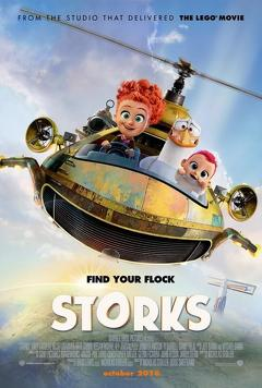 Best Family Movies of 2016 : Storks