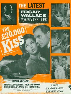 Best Crime Movies of 1963 : The £20,000 Kiss