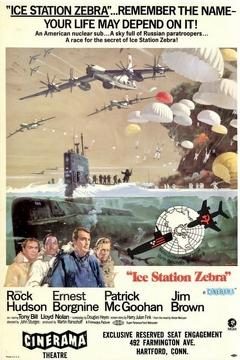 Best Adventure Movies of 1968 : Ice Station Zebra