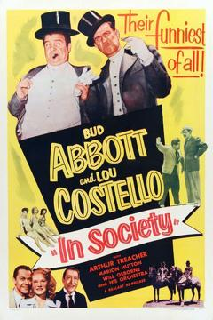 Best Comedy Movies of 1944 : In Society
