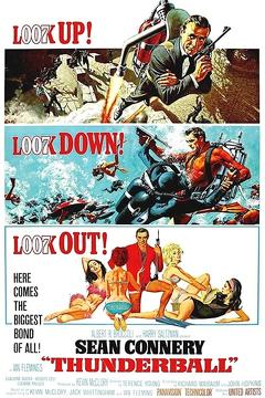 Best Thriller Movies of 1965 : Thunderball
