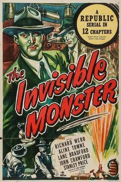 Best Science Fiction Movies of 1950 : The Invisible Monster