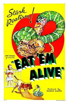 Best Documentary Movies of 1933 : Eat 'Em Alive