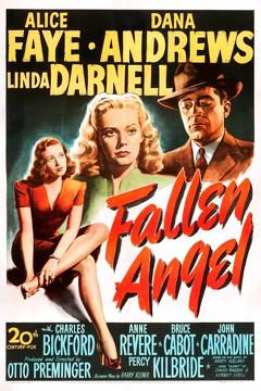 Best Romance Movies of 1945 : Fallen Angel