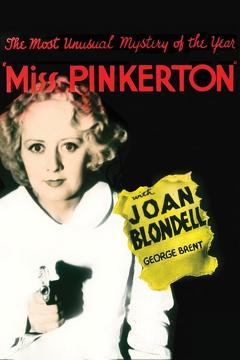 Best Mystery Movies of 1932 : Miss Pinkerton