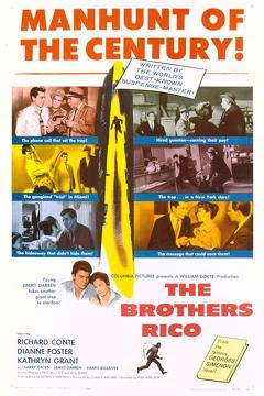 Best Crime Movies of 1957 : The Brothers Rico