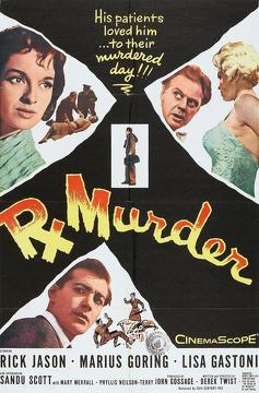 Best Crime Movies of 1958 : Rx for Murder