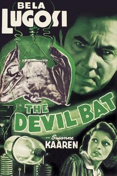 Best Horror Movies of 1940 : The Devil Bat