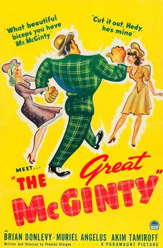 Best Comedy Movies of 1940 : The Great McGinty