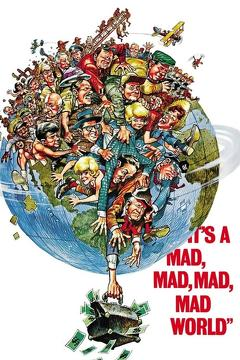 Best Comedy Movies of 1963 : It's a Mad, Mad, Mad, Mad World