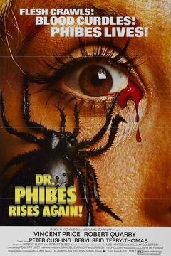 Best Horror Movies of 1972 : Dr. Phibes Rises Again