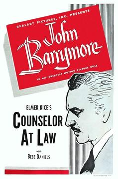 Best Drama Movies of 1933 : Counsellor at Law