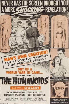Best Science Fiction Movies of 1962 : The Creation of the Humanoids