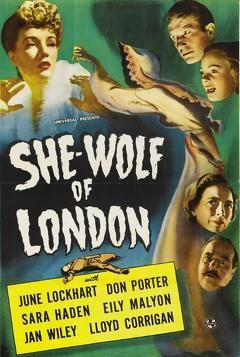 Best Horror Movies of 1946 : She-Wolf of London
