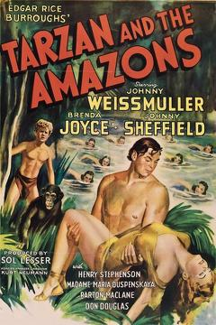 Best Action Movies of 1945 : Tarzan and the Amazons