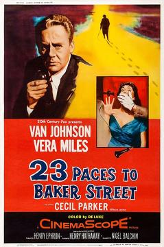 Best Crime Movies of 1956 : 23 Paces to Baker Street