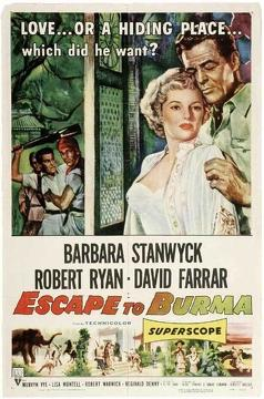 Best Adventure Movies of 1955 : Escape to Burma