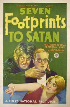 Best Crime Movies of 1929 : Seven Footprints to Satan