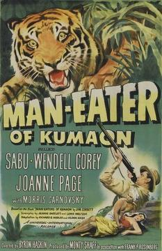 Best Adventure Movies of 1948 : Man-Eater of Kumaon