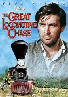 Best Action Movies of 1956 : The Great Locomotive Chase