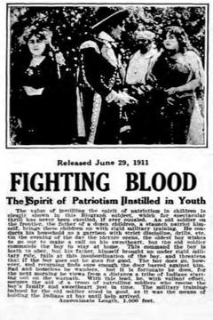 Best Movies of 1911 : Fighting Blood