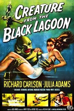 Best Science Fiction Movies of 1954 : Creature from the Black Lagoon