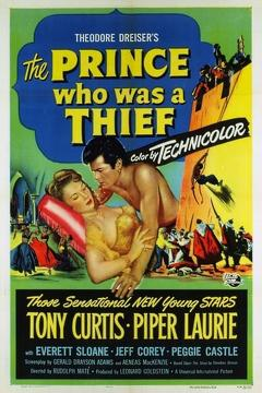 Best Adventure Movies of 1951 : The Prince Who Was a Thief