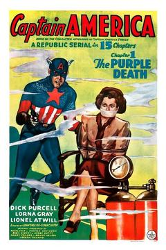 Best Science Fiction Movies of 1944 : Captain America