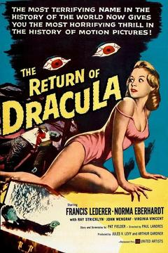 Best Horror Movies of 1958 : The Return of Dracula