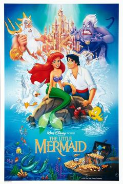 Best Family Movies of 1989 : The Little Mermaid