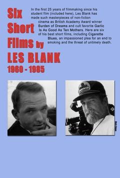 Best History Movies of 1985 : Six Short Films of Les Blank (1960-1985)