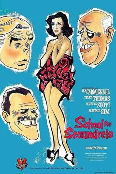 Best Comedy Movies of 1960 : School for Scoundrels