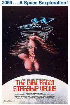 Best Science Fiction Movies of 1975 : Girl from Starship Venus