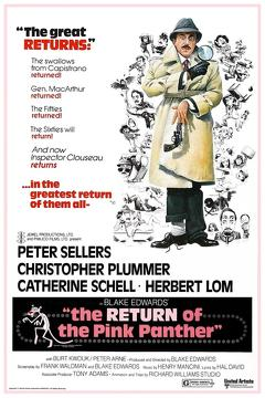 Best Mystery Movies of 1975 : The Return of the Pink Panther