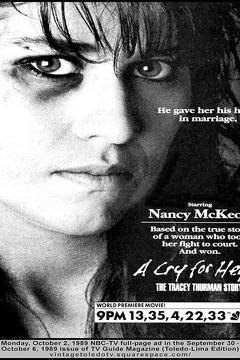 Best Tv Movie Movies of 1989 : A Cry for Help: The Tracey Thurman Story